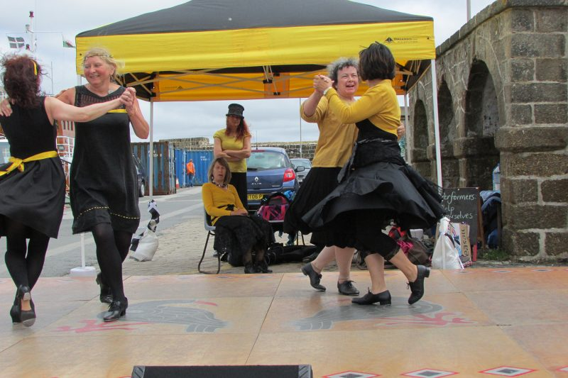 Penzance Guizers at Quay Fair Day